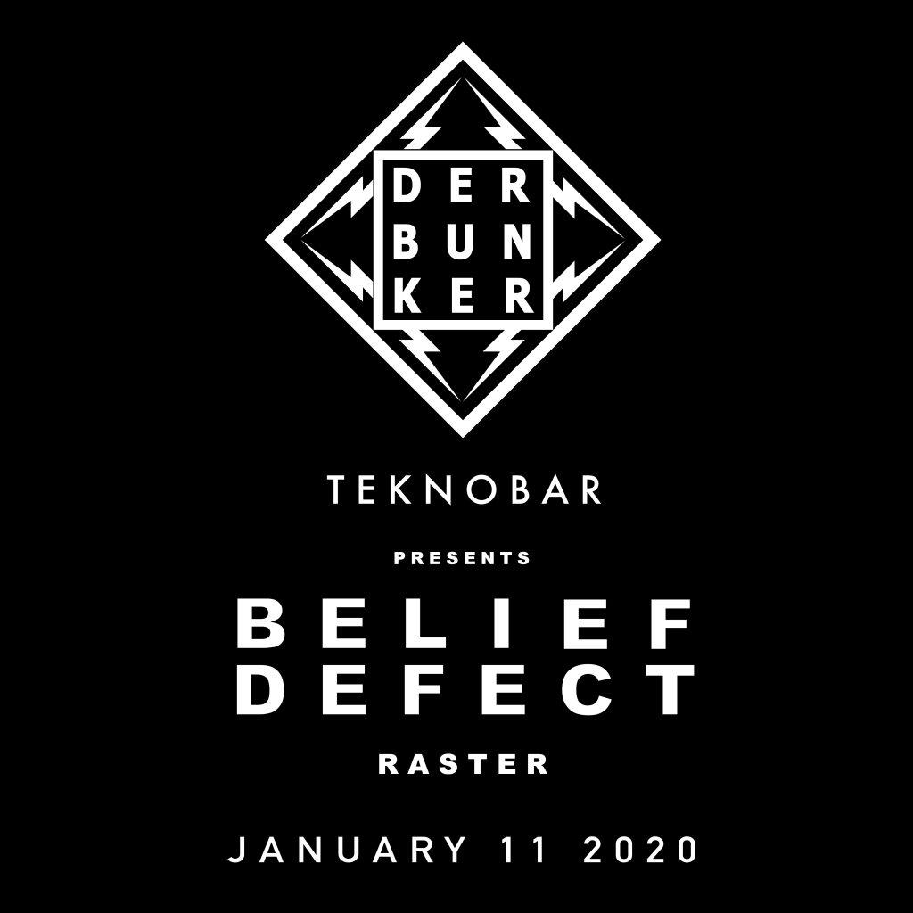Belief Defect - Flyer front