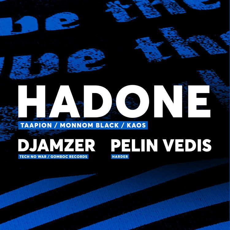 Save The Rave with Hadone - Flyer back
