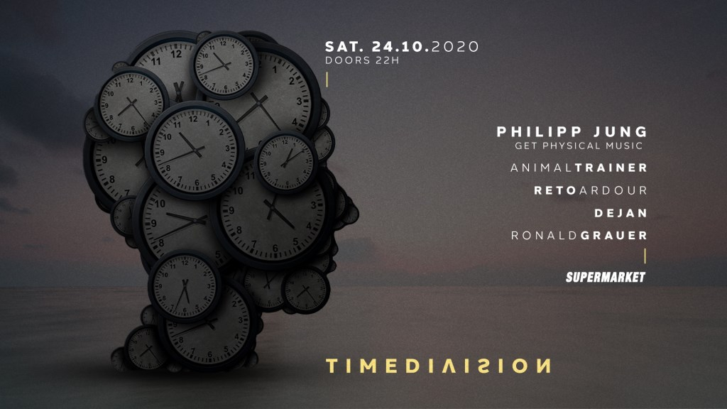 Time Division with Philipp Jung (Get Physical Music) - Flyer front