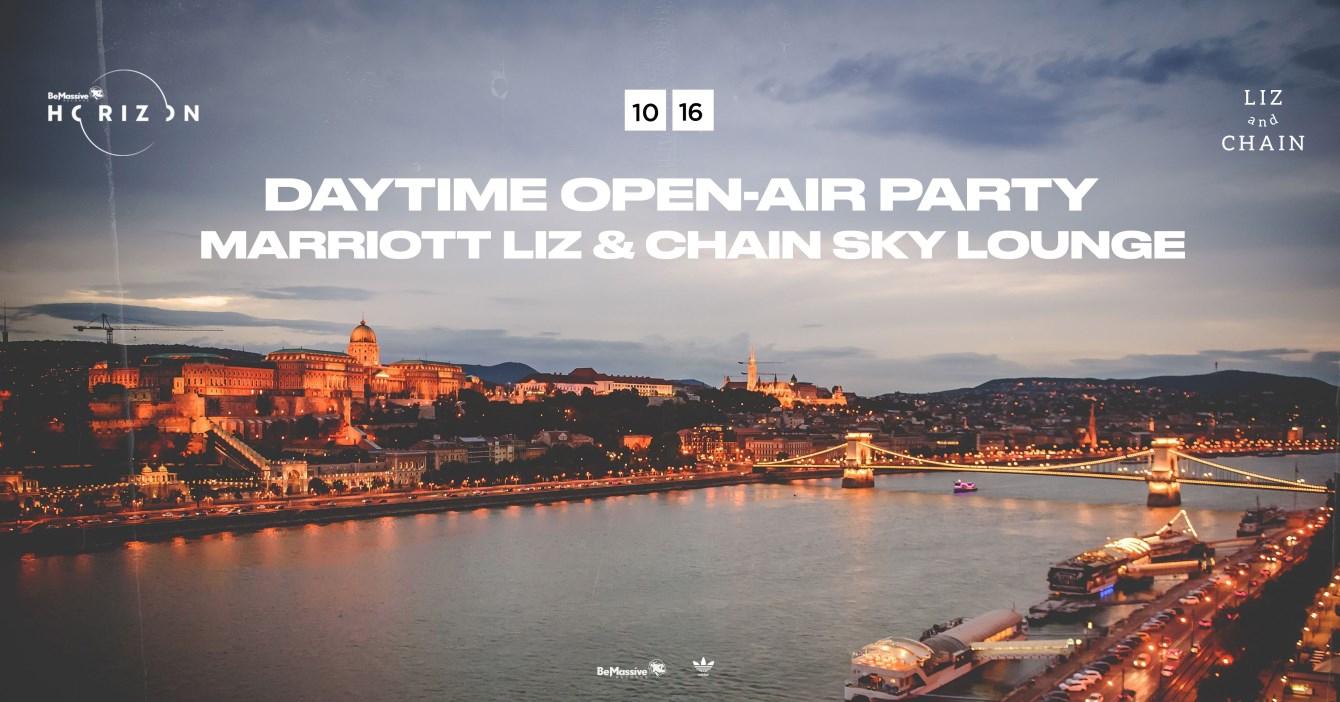 Be Massive Horizon Party Marriott Liz - Flyer front