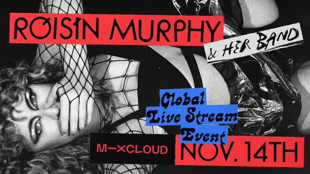 Róisín Murphy Live - Flyer front