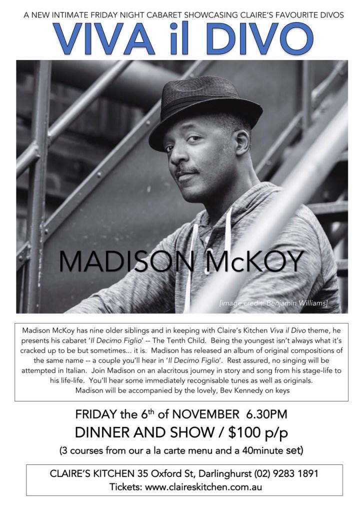 Madison Mckoy in 'Il Decimo Figlio' - Flyer front