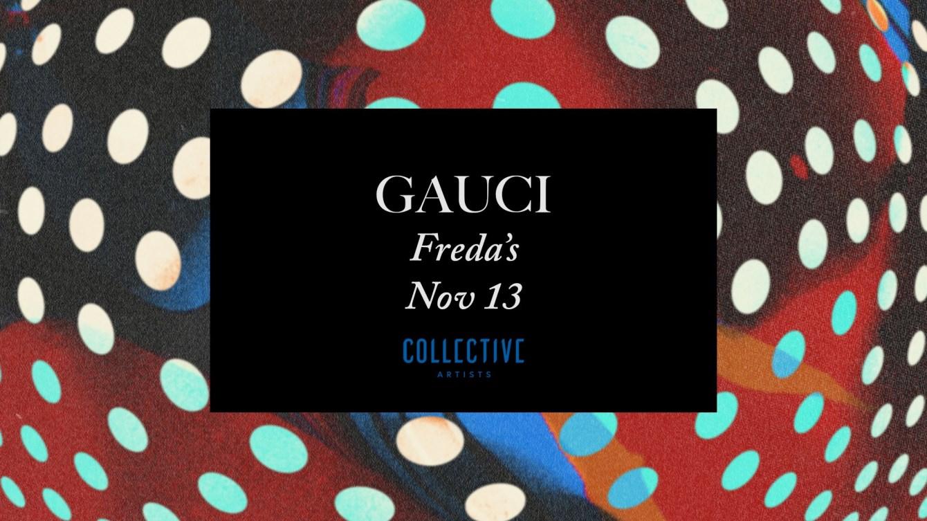 Gauci (Live) - Flyer front