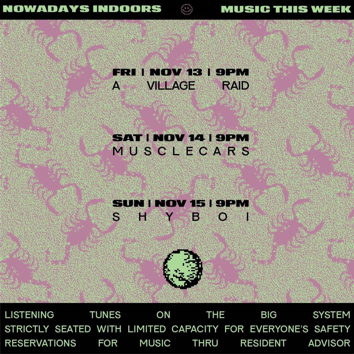 Seated Sunday: Shyboi - Flyer back