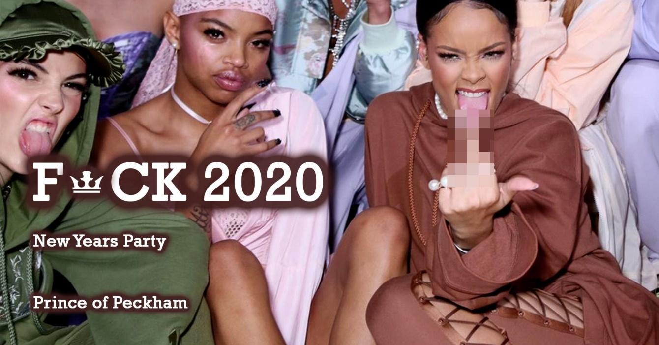 F👑ck 2020 - Flyer front