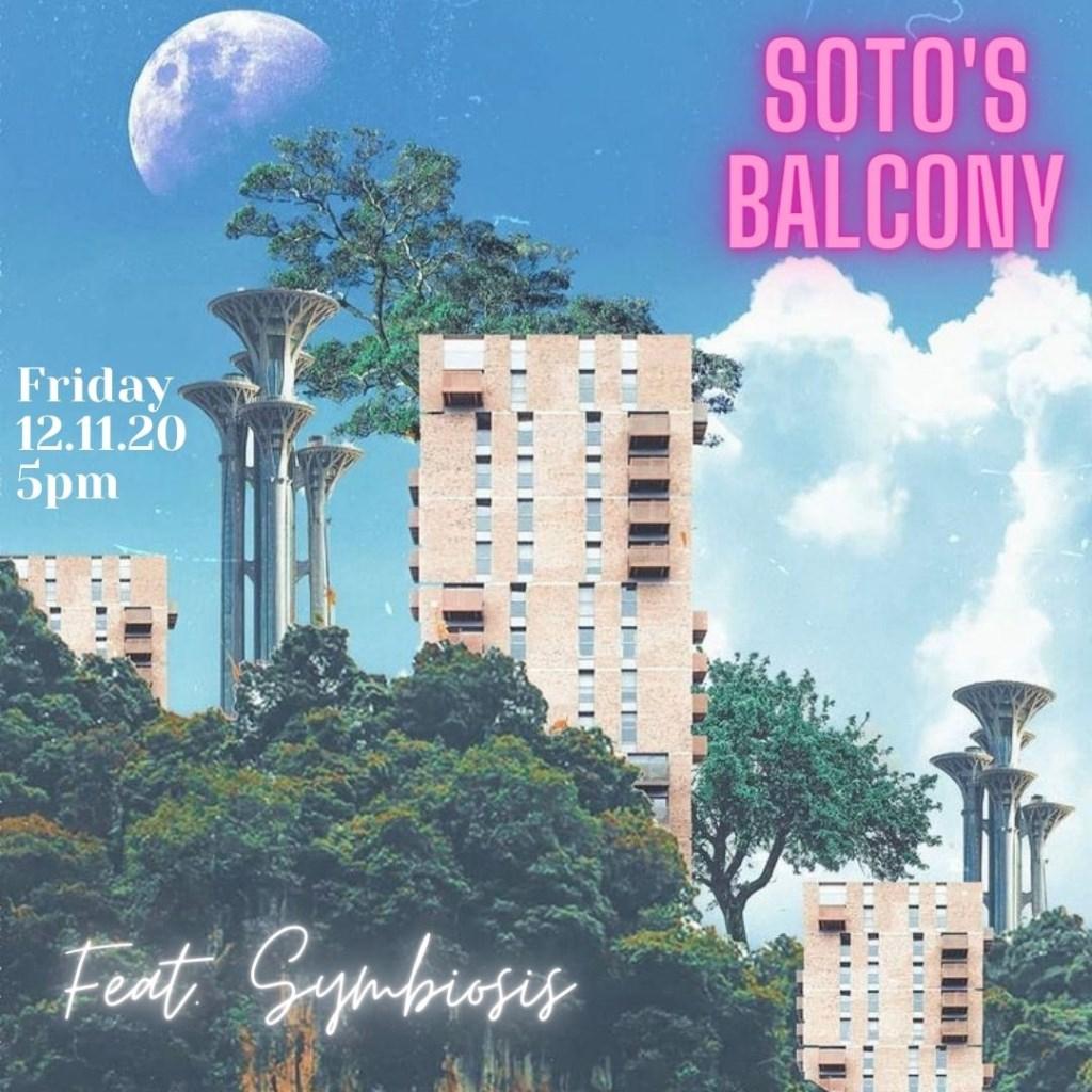Soto's Balcony II - Flyer front