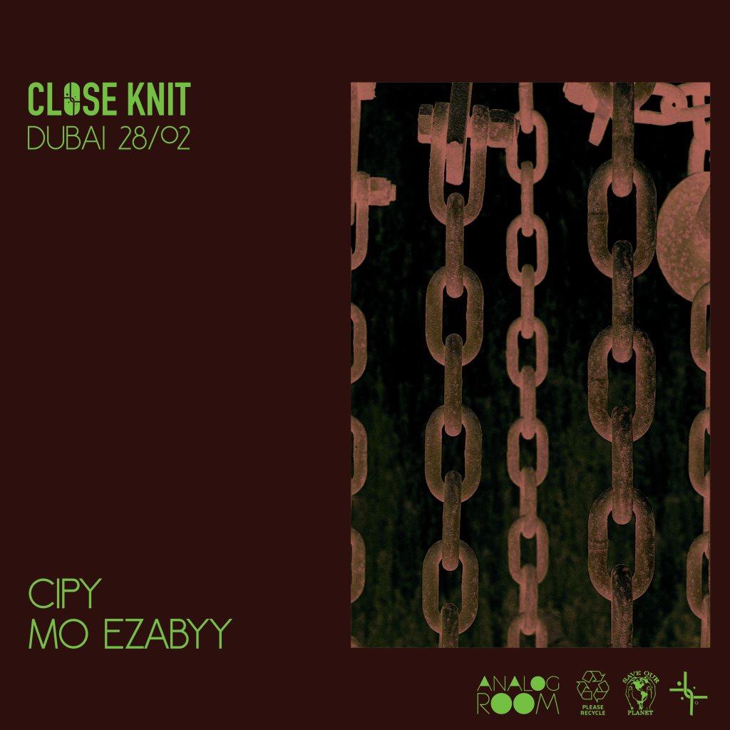 Close Knit Show - Dubai - Flyer front