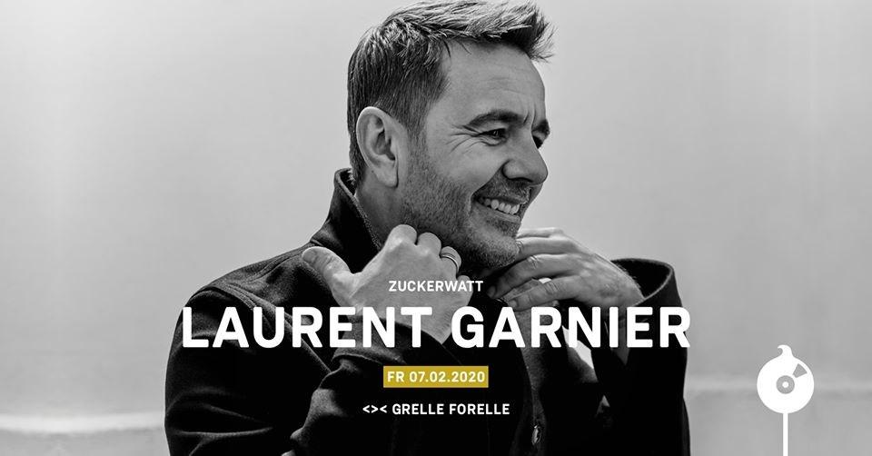 Zuckerwatt with Laurent Garnier / Grelle Forelle - Flyer front