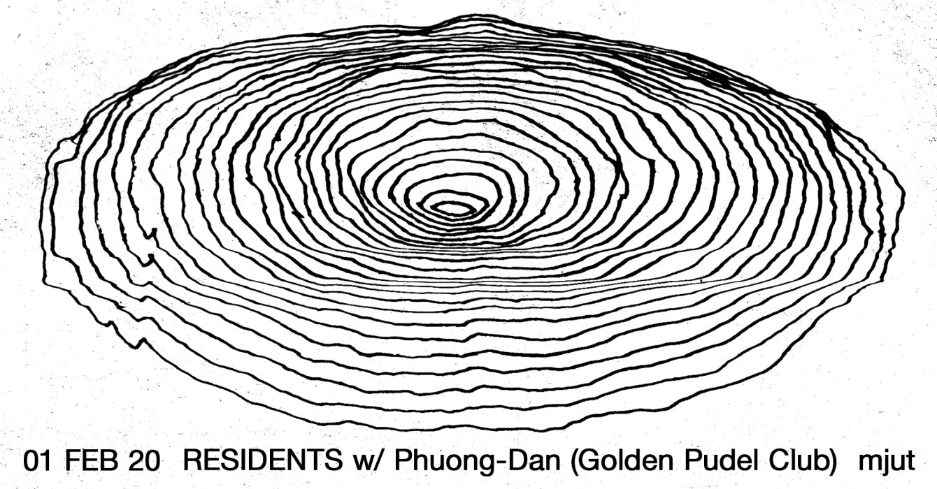 Residents with Phuong-Dan (Golden Pudel Club) - Flyer front
