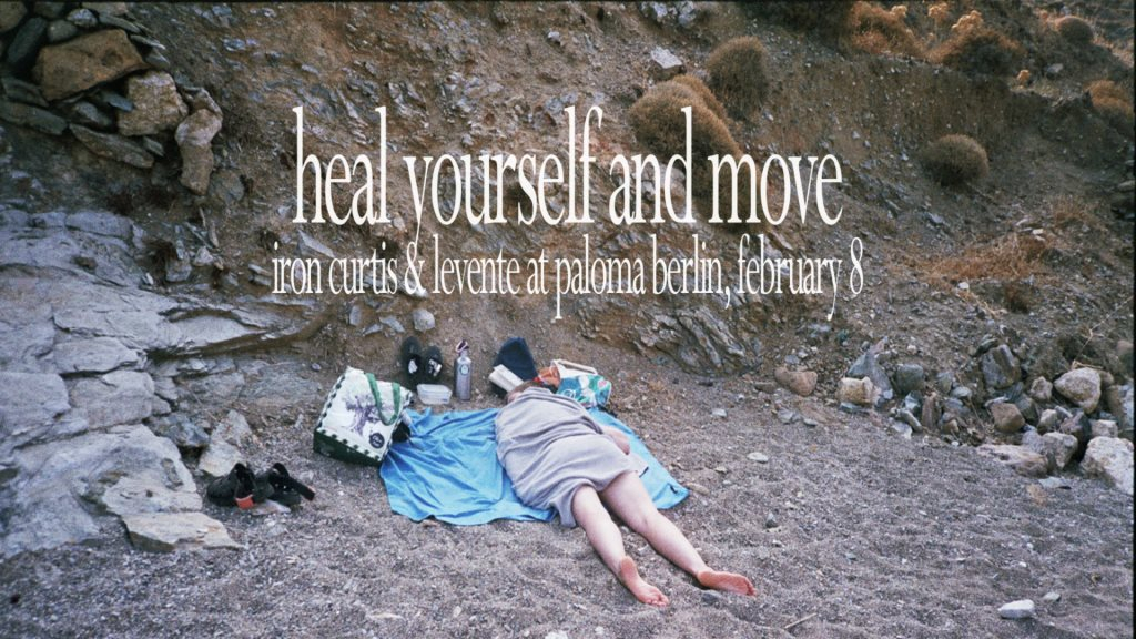 Heal Yourself and Move - Flyer front