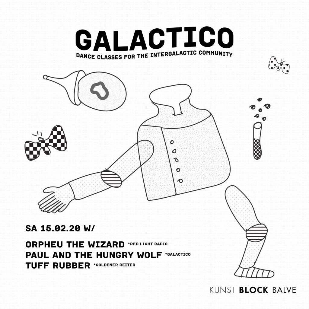 Galactico x Kunst Block Balve - Flyer back