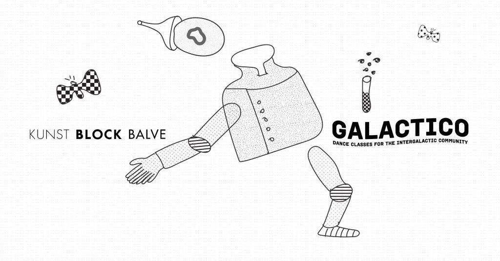 Galactico x Kunst Block Balve - Flyer front