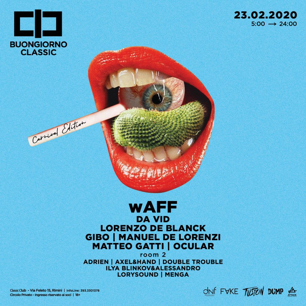 Carnival Edition w. wAFF - Flyer front