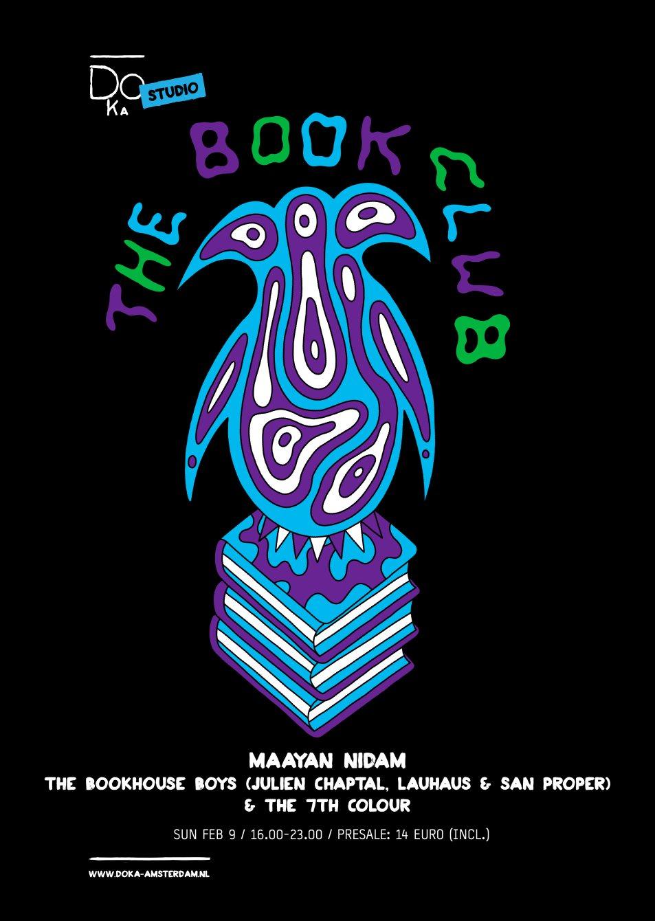 The Book Club x Doka Studio with Maayan Nidam - Flyer back