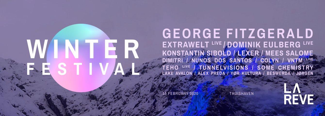La Rêve Winterfestival 2020 - Flyer back