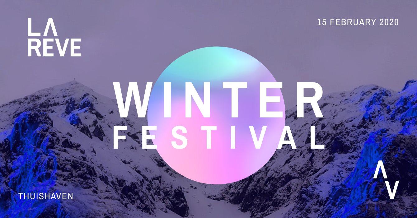 La Rêve Winterfestival 2020 - Flyer front