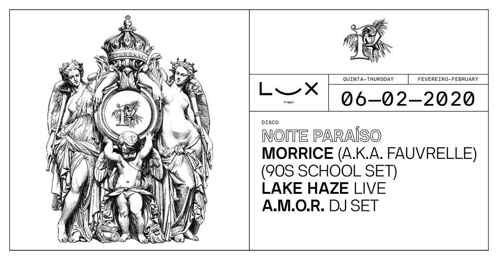 Noite Paraíso - Flyer front