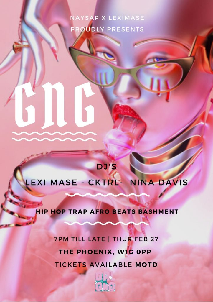 GNG - Flyer front