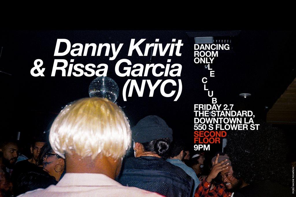Le Club: Danny Krivit & Rissa Garcia - Flyer front