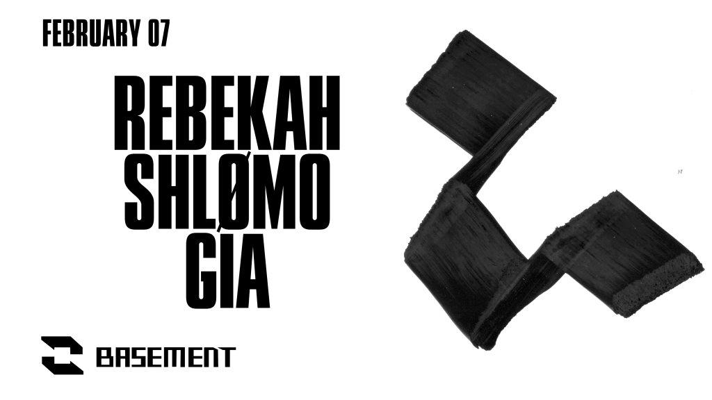 Rebekah / Shlømo / GIA - Flyer front