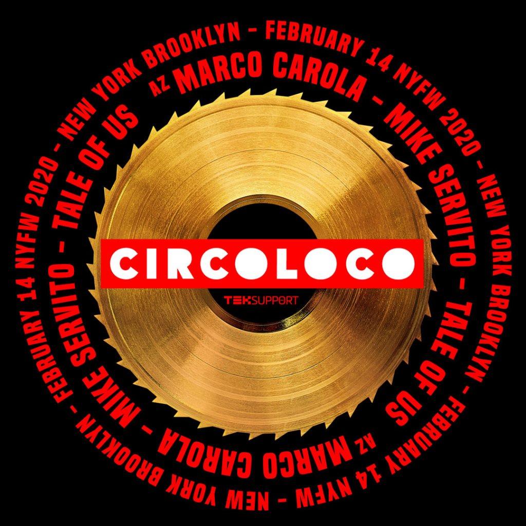 Circoloco Fashion Week - Flyer back