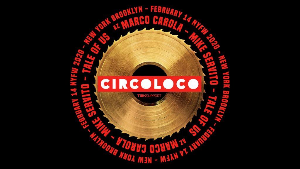Circoloco Fashion Week - Flyer front