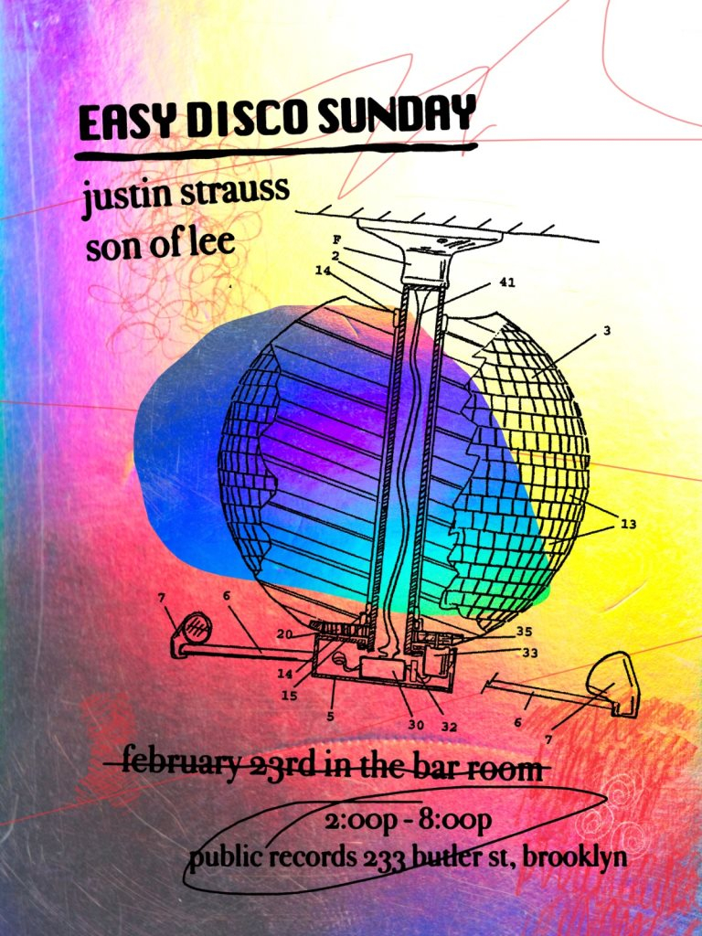 Easy Disco Sunday Vol. 1 - Flyer front