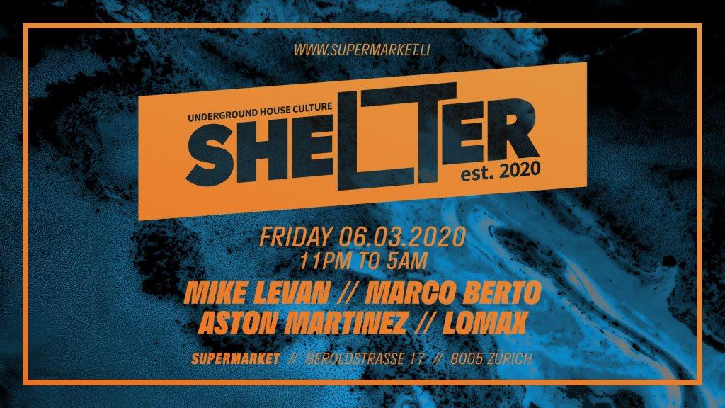 Shelter - Flyer front