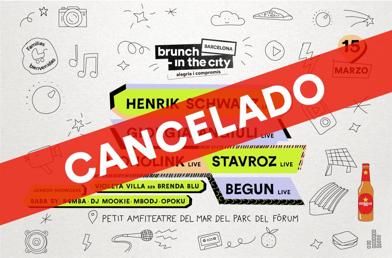 ***Cancelado*** Brunch -In the City #2: Henrik Schwarz Live + Giorgia Angiuli Live - Flyer back