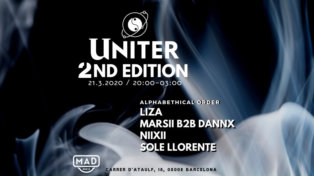 [Cancelled] Uniter 2ND Edition - Flyer front