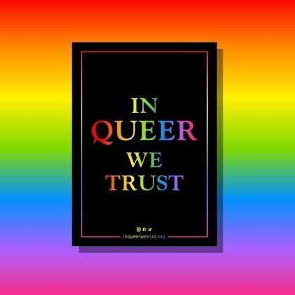 In Queer We Trust - Marseille - Flyer front