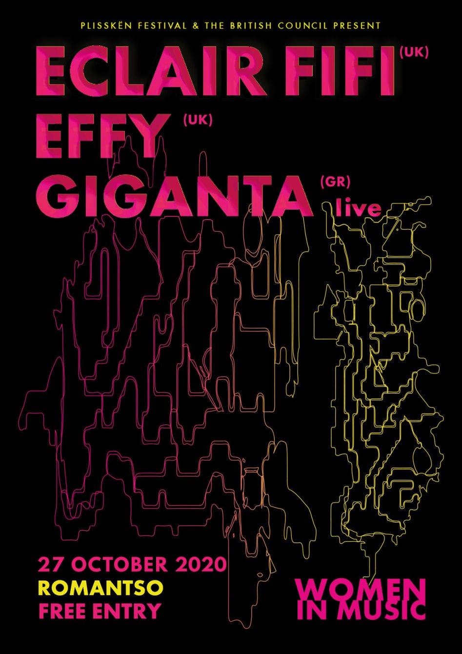 Eclair Fifi & Effy & Giganta - Flyer back