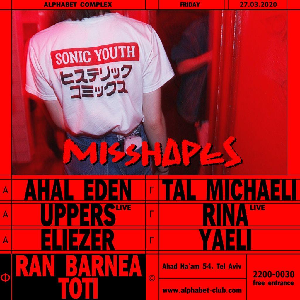 Misshapes - Flyer back