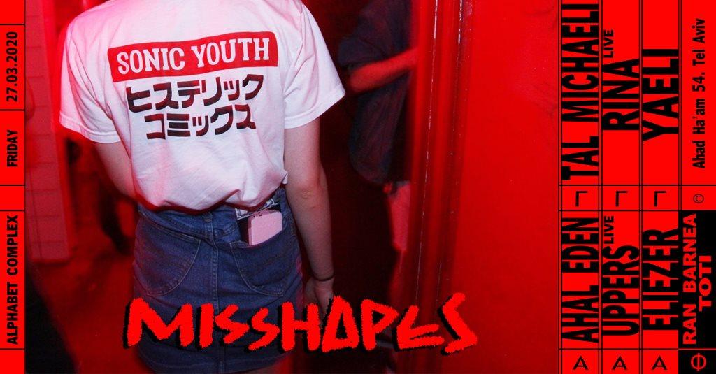 Misshapes - Flyer front
