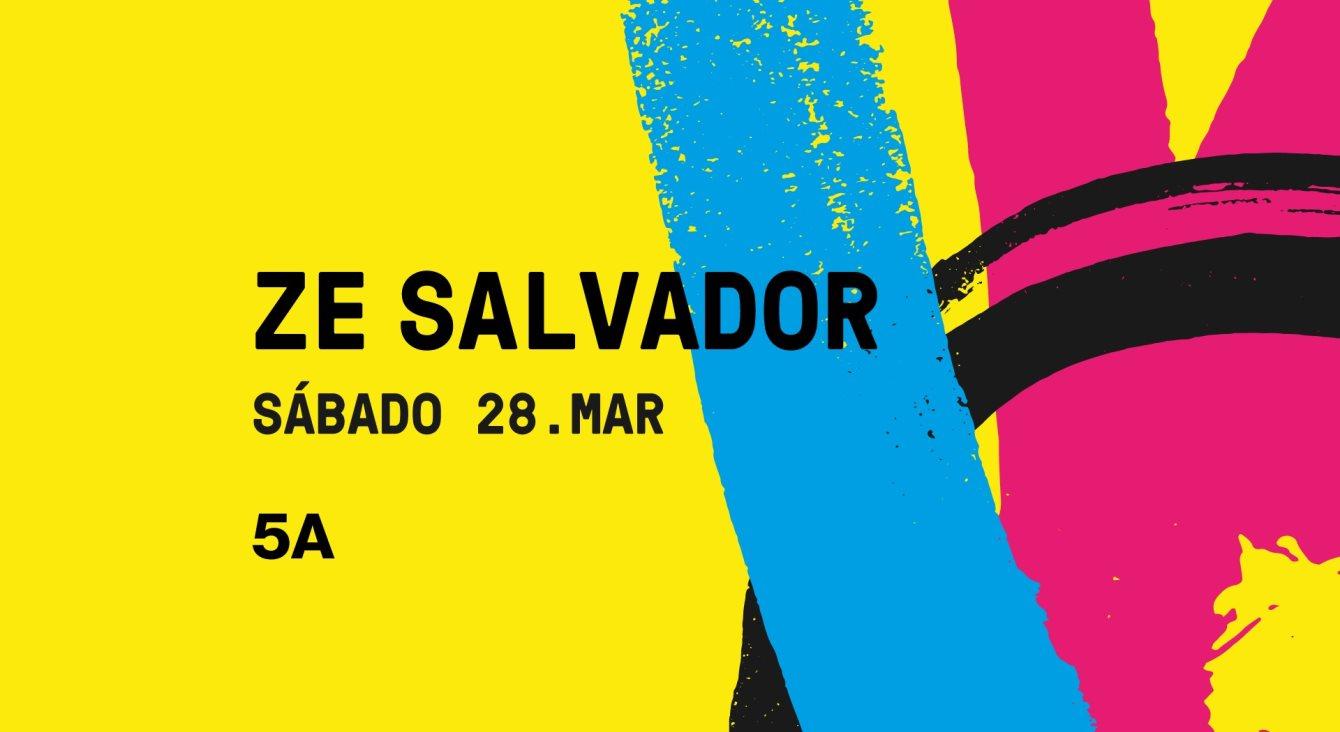 Ze Salvador - Flyer front