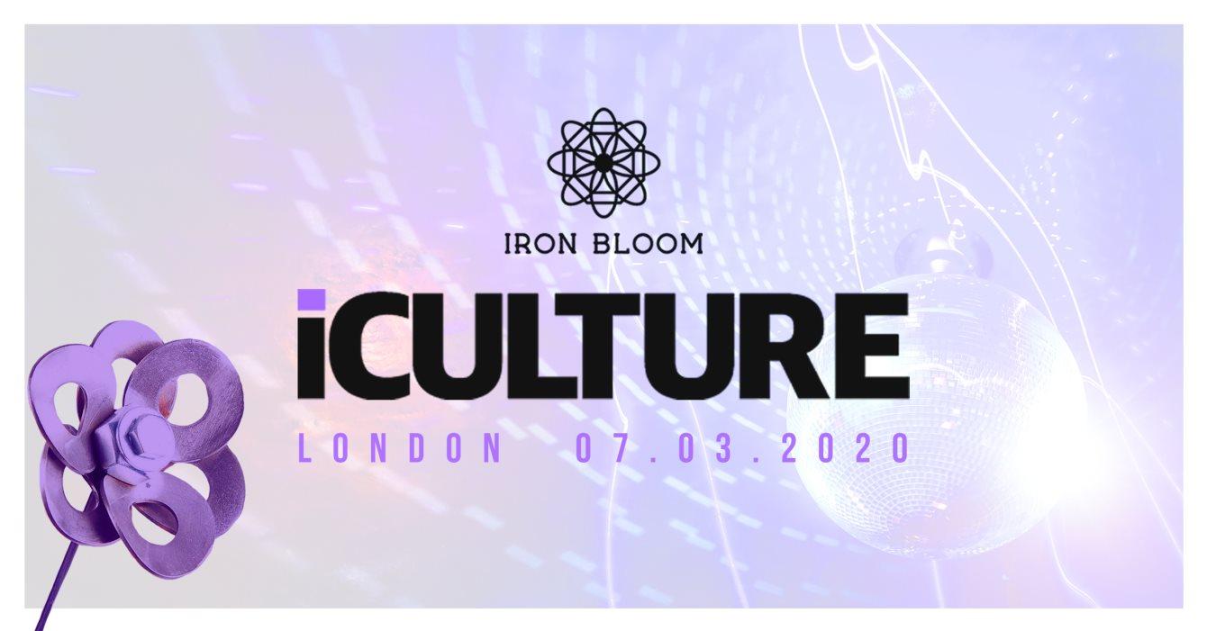 iCulture London Ft The Journey Men & Joey Musaphia - Flyer front