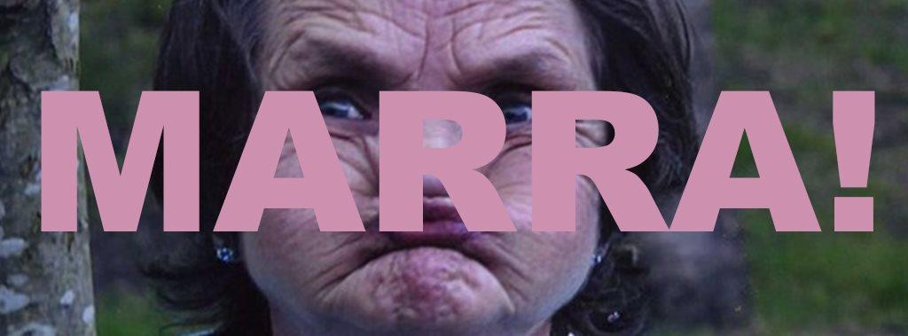 Lone Taxidermist: Marra - Flyer front