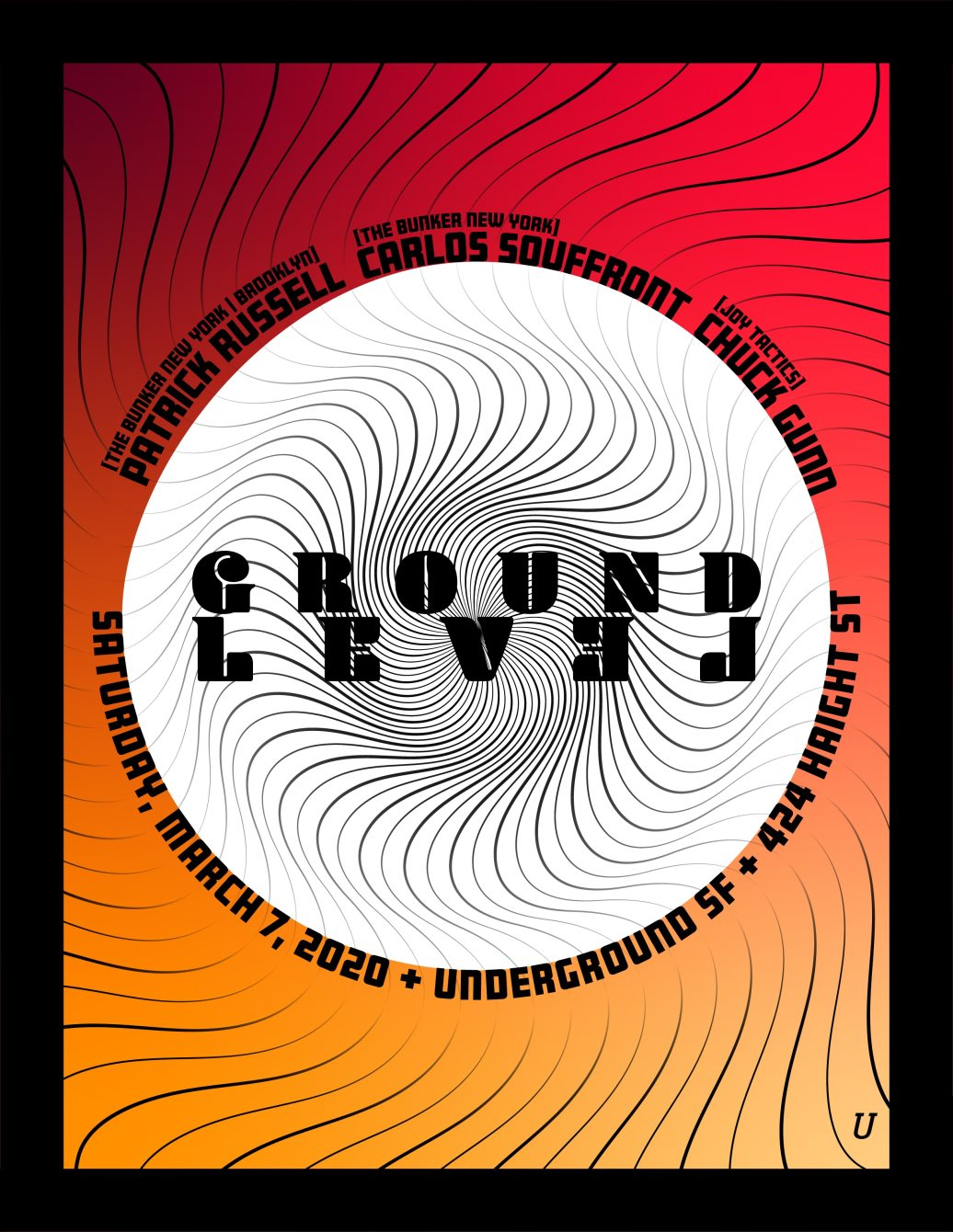 Ground Level 001 - Flyer front