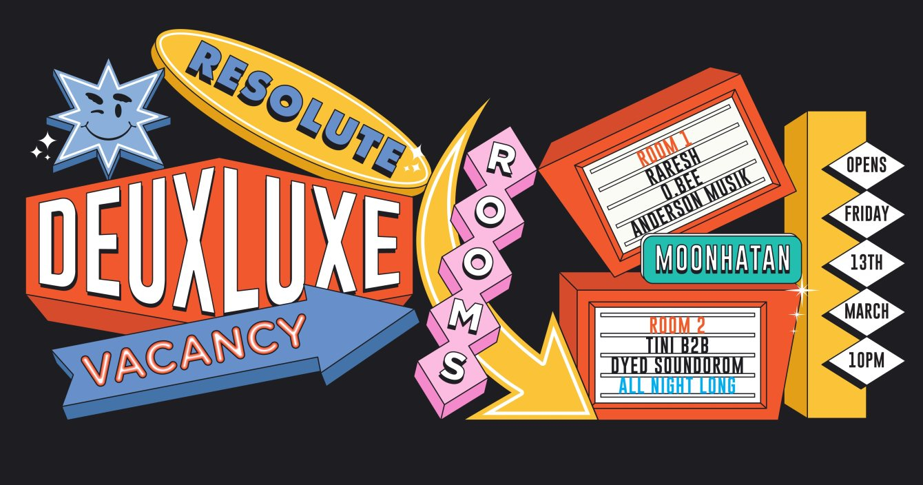 [CANCELLED] ReSolute Deux Luxe - Flyer front