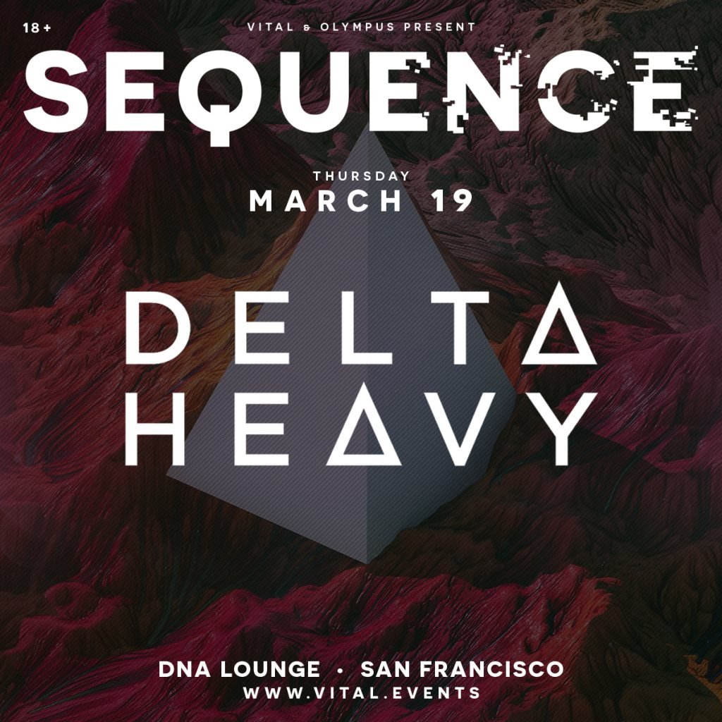 Sequence Feat. Delta Heavy - Flyer front
