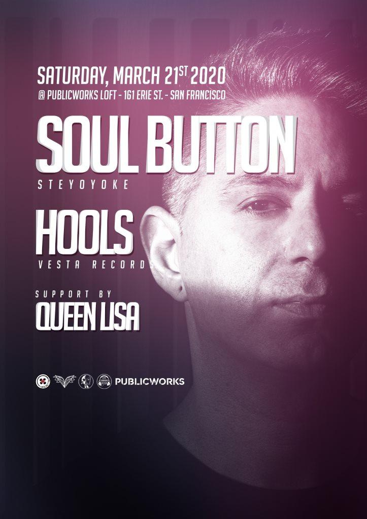 Soul Button & Hools x Life Sounds Better - Flyer front