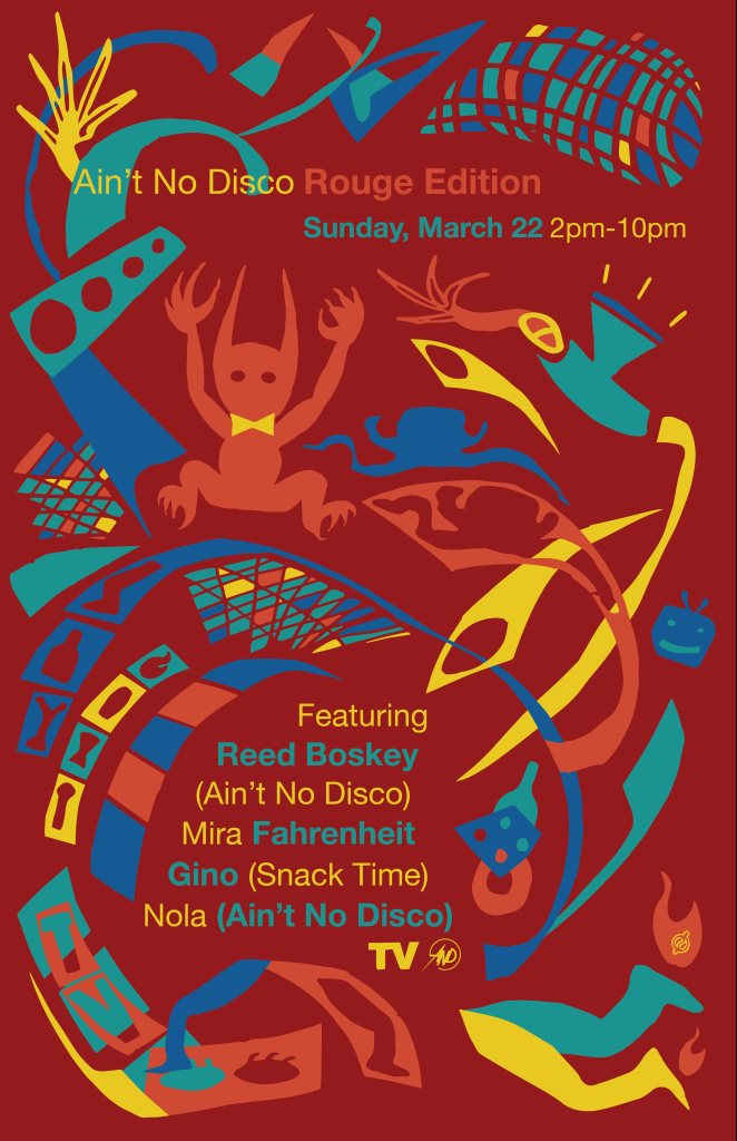 TV Lounge presents And: Nain Edition - Flyer front