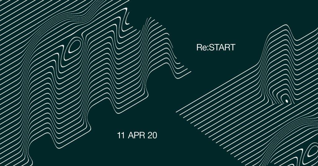 Re:Start / 2nd Anniversary - Flyer front
