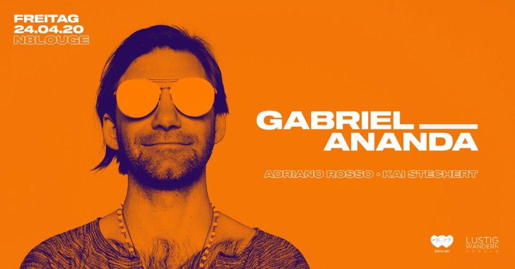 Gabriel Ananda - Flyer front