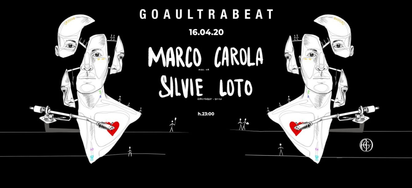 [CANCELLED] Goaultrabeat Pres. Marco Carola - Flyer front