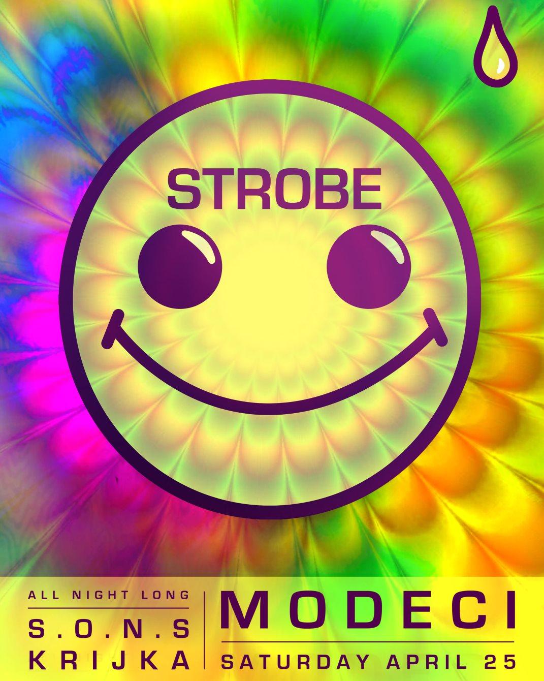 Strobe: We Are Back - Flyer front