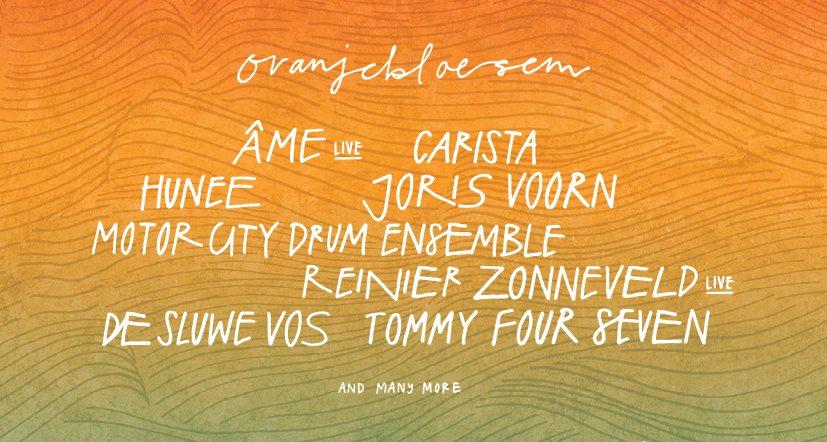 [CANCELLED] Oranjebloesem Festival 2020 - Flyer front