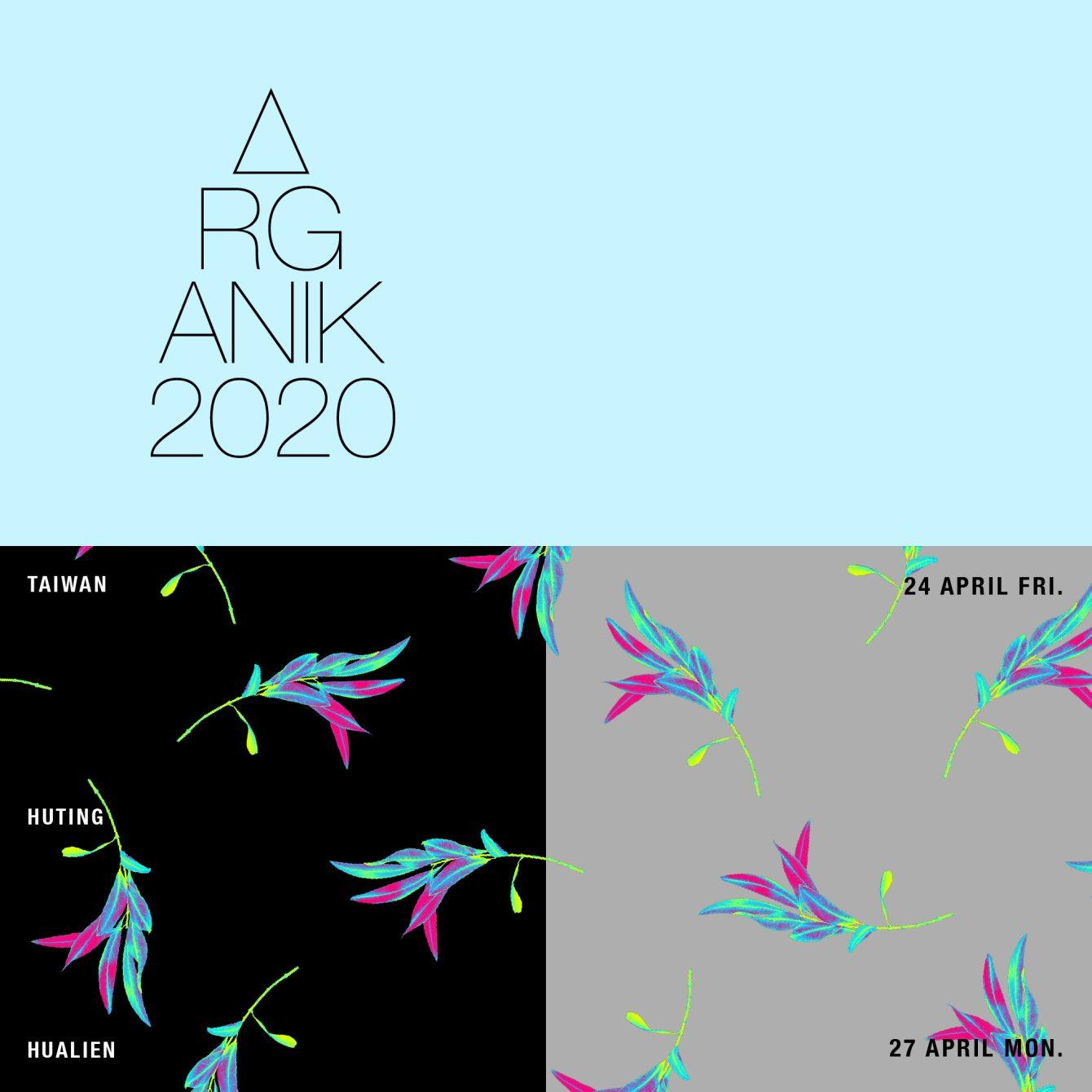 [CANCELLED] Organik Festival 2020 - Flyer front