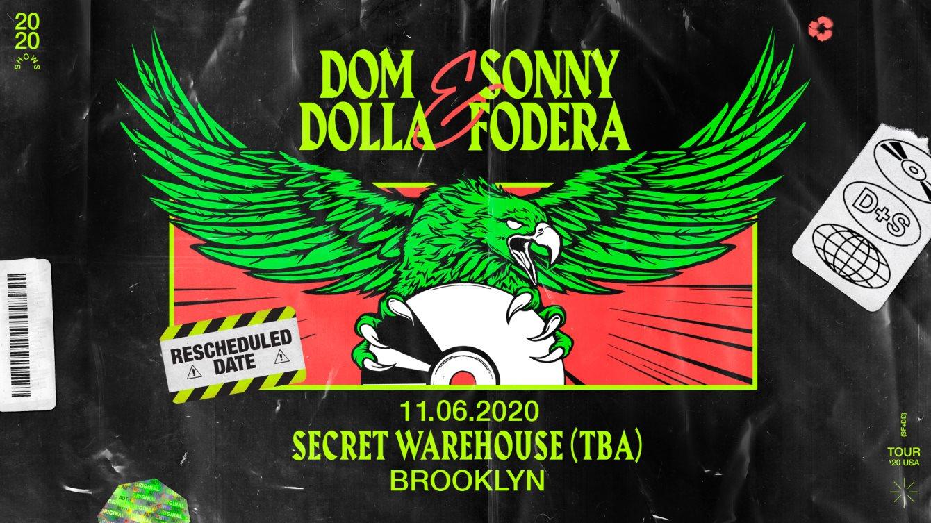 Dom Dolla & Sonny Fodera - Flyer front