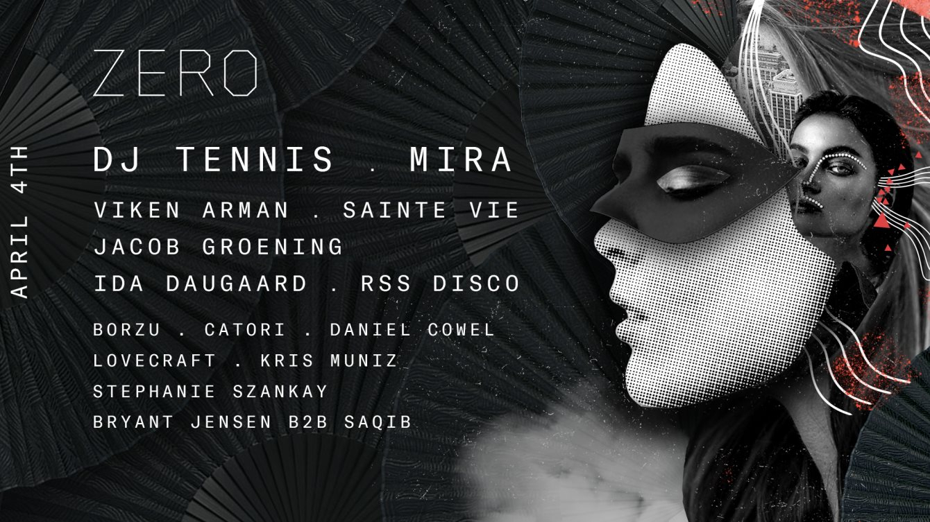 Zero presents... The Masquerade 2020: Clarity with Mira, DJ Tennis & More.. - Flyer front